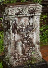 Pillar Artwork At My Son Temple Vietnam