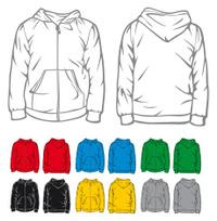 men's hooded sweatshirt with pocket