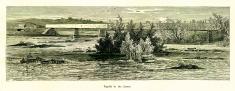 Rapids in the James River, Virginia