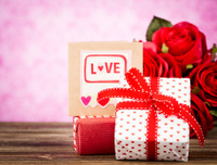 Valentine's Day Gift and Card
