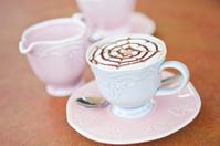 Mocha Coffee with Milk and Sugar