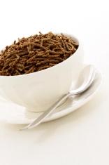 wheat bran cereal breakfast