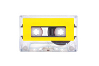 Compact Cassette isolated