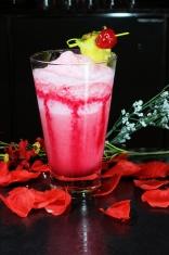 Cold Red Beverage