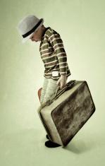 sad little traveler