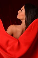 Beautiful Seductive Hispanic Woman
