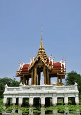 sanctuary thai style on pool