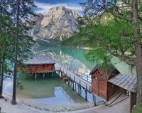 Lago di Braies, Pragser Wildsee (Dolomiti, Italia)