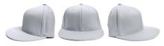 Grey Baseball Cap at Different Angles