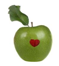 Green Heart Apple