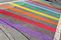 Gay Pride Crosswalk, Vancouver