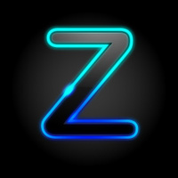 Glowing Font - Z