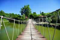 Crossing an Old Bridge