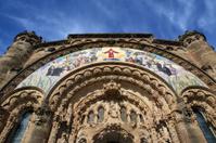 Tibidabo church/temple,  Barcelona, Spain