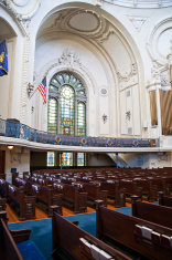 US Naval Academy Chapel Interior