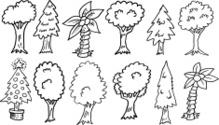 Doodle Tree Set