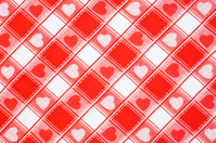 Heart Checked Tablecloth