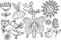 Doodle Springtime Set