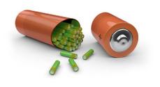 Batteries inside battery