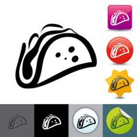 Taco icon | solicosi series
