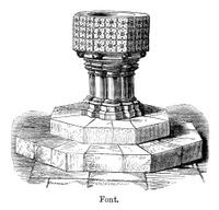 Architecture - Baptismal font