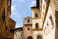 Volterra historic center