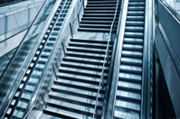 Stairs at a railway Station