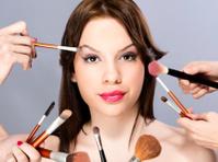 Applying make up