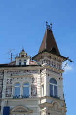 Old building with tower