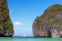 Maya bay. Phi-Phi Islands, Thailand
