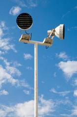 Outdoor public light stands