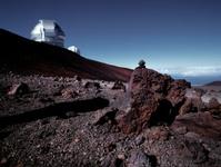 UH and Gemini telescope Mauna Kea Hawaii.