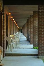 Walkway with Diminishing Perspective