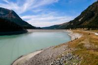 Dam of reservoir Laengental