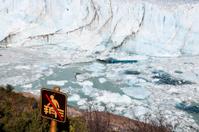 No entrance - Perito Moreno Glacier