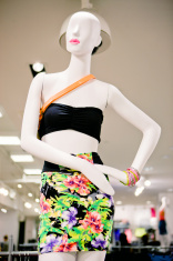 Summer Clothing Displayed at the Store