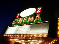 Cinema Sign Blank