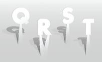 Illustration of white paper letters