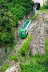 Montserrat mountain train