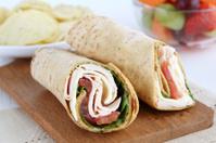 lunch wrap sandwich