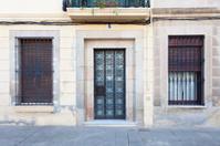 Door and windows at Sarrià district (Barcelona)