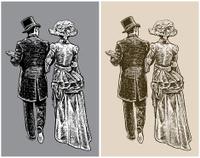 1890's High Society Couple