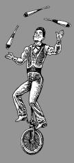 Circus Performer - Juggler