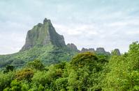 Bali Hai Mountain on Moorea