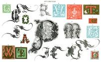 Medieval Illuminated Letters