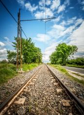 Railway straight ahead