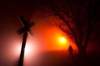 Spooky Railroad Crossing