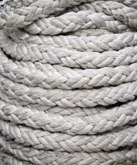 braided ship rope