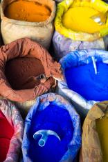 pigments in sacks