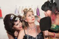 Ladies in Hair Salon Argue